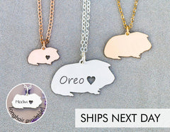 necklace guinea pig lover gift idea christmas guide