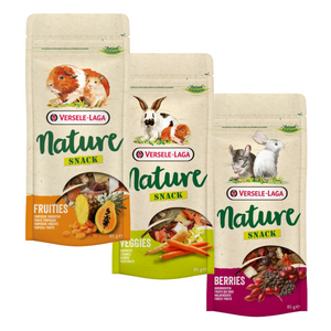 SAMPLE PACK - Treats for Guinea pig Rabbit Mice Rat Degus Chinchilla Snacks - Delicious grain-free snacks, Natural Ingredients versele lage kavee