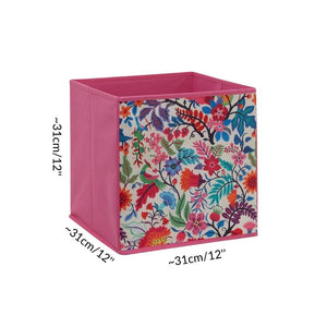 dimension size cube storage box for C&C cage kavee guinea pig pink flower fushia UK