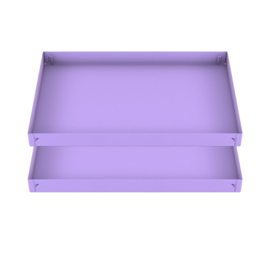 two 3x2 purple lilac pastel coroplast sheets or correx for guinea pig cage C&C cc c and c from brand kavee