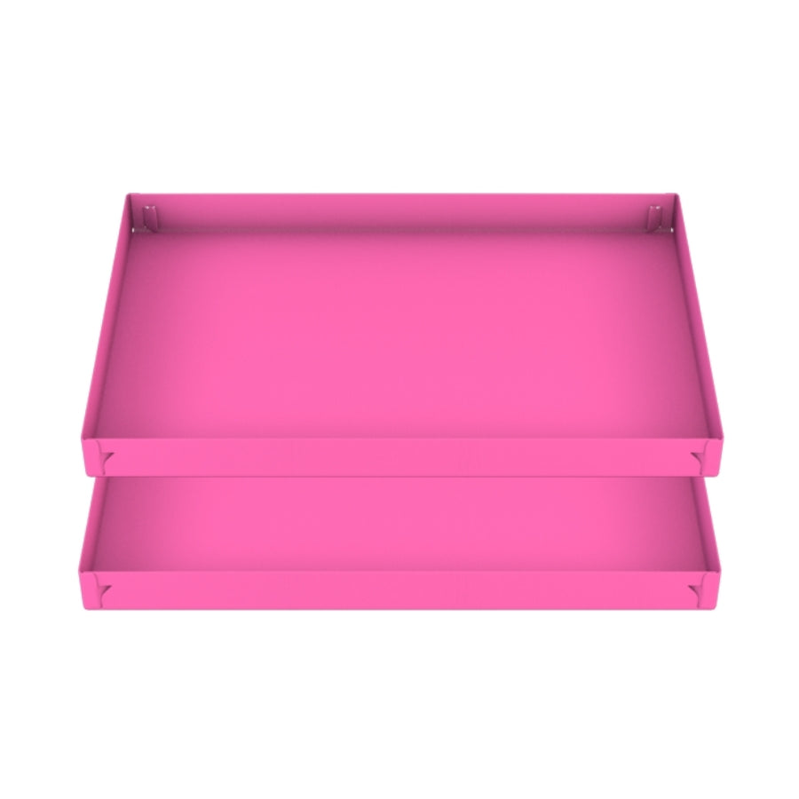 two 3x2 pink coroplast sheets or corrugated plastic correx for guinea pig cage C&C cc c and c from brand kavee