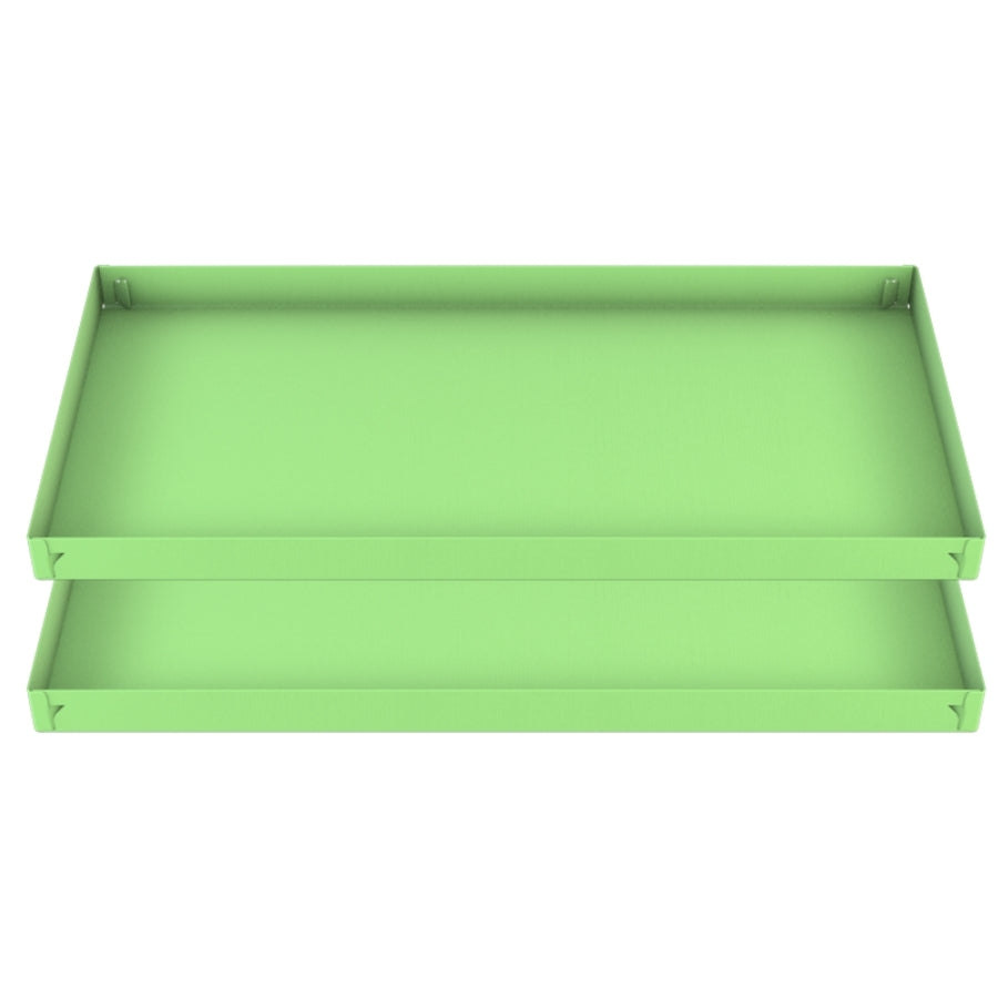 two green pistacchio coroplast sheets or correx size 2x4 for guinea pig cage C&C cc c and c from brand kavee