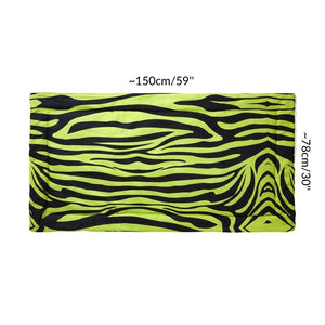 Dimension size measurement guinea pig fleece liner 4x2 zebra green neon rabbit cc c&C cnc c and c cage kavee
