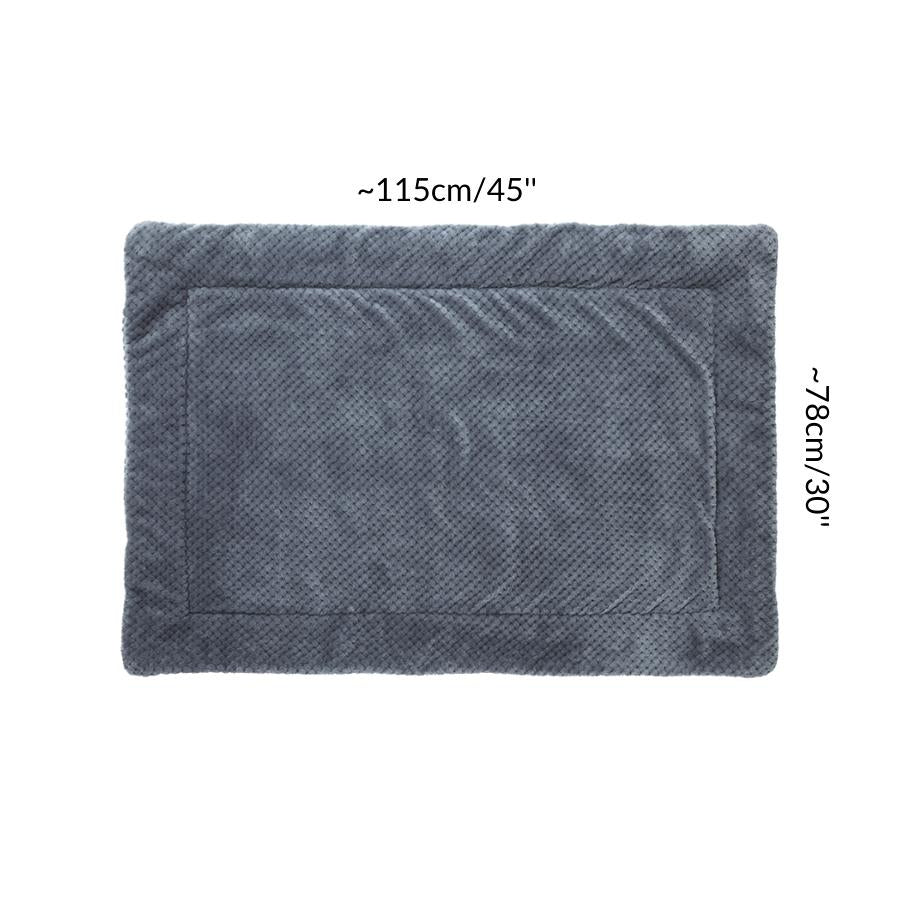Dimension size measurement guinea pig fleece liner 3x2 blue grey rabbit cc c&C cnc c and c cage kavee