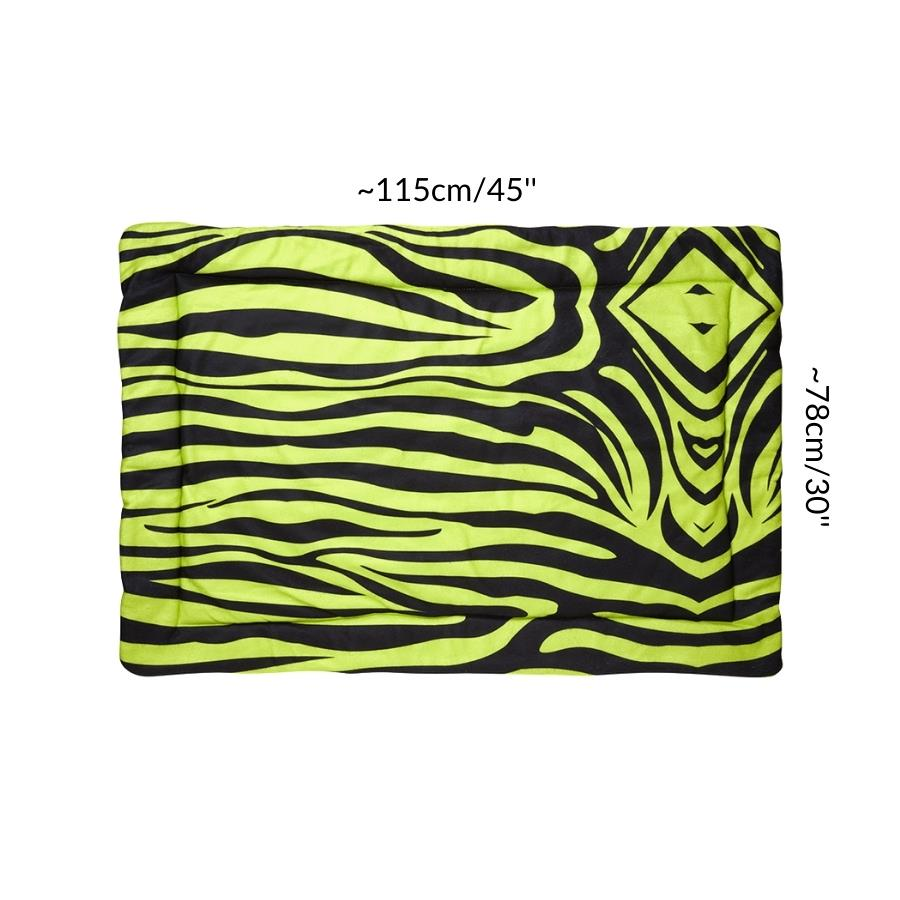 Dimension size measurement guinea pig fleece liner 3x2 zebra green neon rabbit cc c&C cnc c and c cage kavee