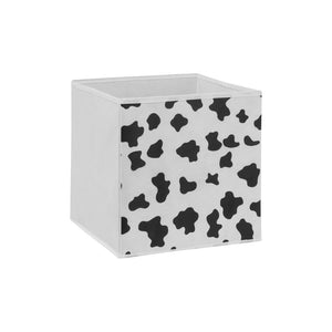 One storage box cube for guinea pig CC cage cowprint white Kavee
