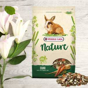 Rabbit food natural mix kibble grain-free Nature Versele Laga