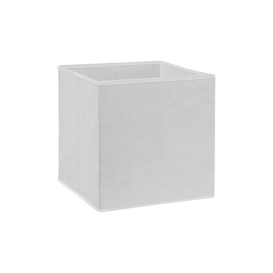 Back of One storage box cube for guinea pig CC cage cowprint white Kavee