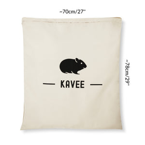 dimension of a kavee laundry bag guinea pig rabbit fleece liner pet dog cat bed blanket