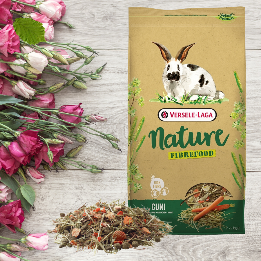 Sensitive Rabbit food grain-free Fibrefood Nature Versele Laga