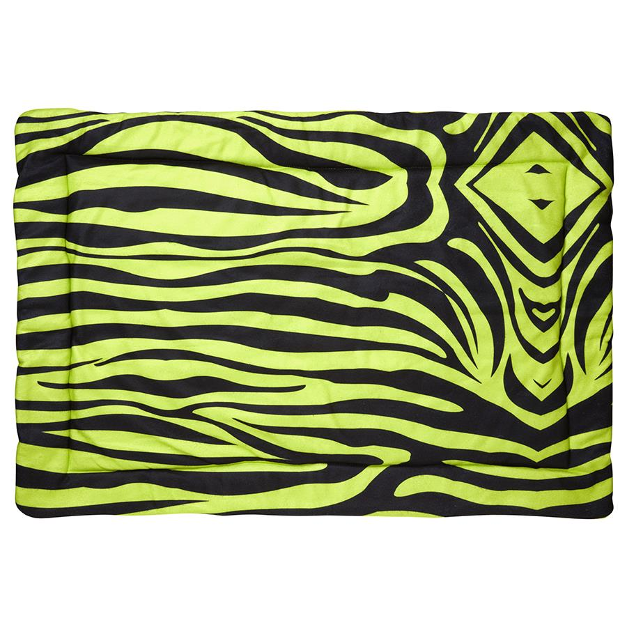 guinea pig fleece liner 3x2 zebra green neon rabbit cc c&C cnc c and c cage kavee