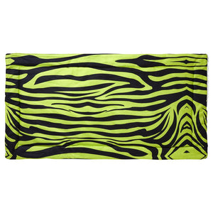 guinea pig fleece liner 4x2 zebra green neon rabbit cc c&C cnc c and c cage kavee