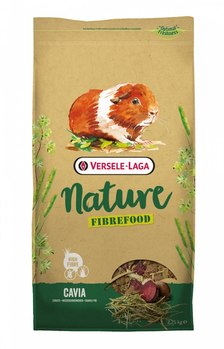 Sensitive Guinea pig food grain free Fibrefood Nature Versele Laga