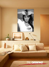 Beyonce Black And White Signature Poster