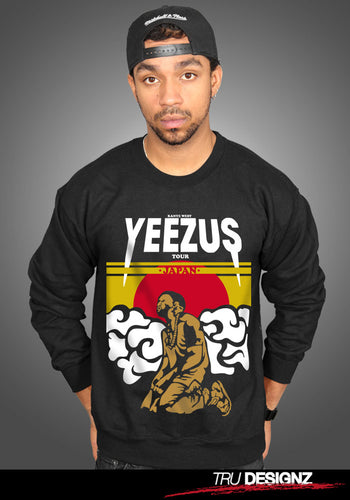 Kanye West Yeezus Tour Japan Sweatshirt