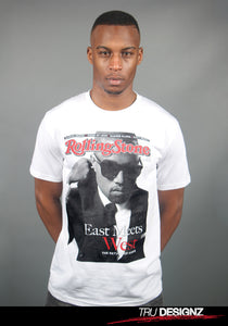 Kanye West Rolling Stones East Meets West Graphic T-Shirt
