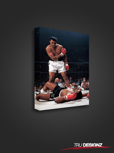 Muhammad Ali Born Winner Victory Canvas