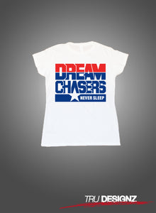 Dreamchasers Never Sleep Womens T-Shirt