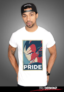 Vegeta Pride Graphic T-Shirt