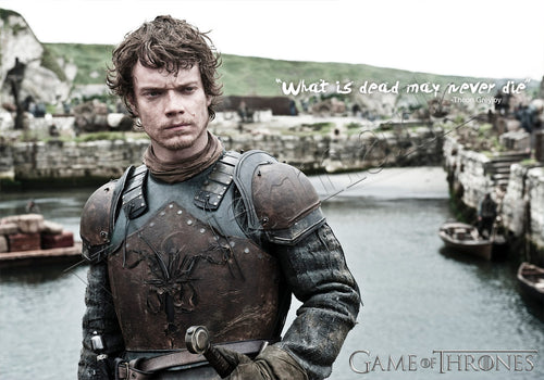 Theon Greyjoy 'Dead May Never Die' Game Of Throne Poster