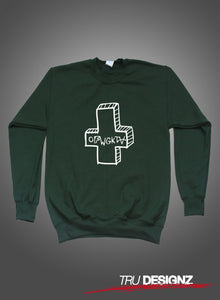 OFWGKTA Odd Future Wolf Gang Kill Them All Cross Sweatshirt