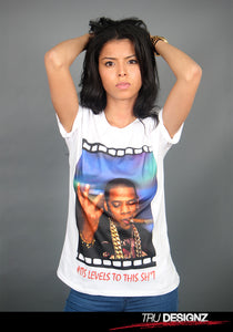 Jay-Z Levels To This Sh!t Graphic T-Shirt