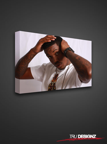 Meek Mill Photoshoot Canvas