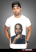 Kanye West So Help Me God Portrait Graphic T-Shirt