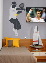 Andy Murray Second Best Quote Poster