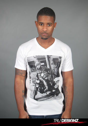 Marlon Brando 'The Wild One' Graphic V-Neck