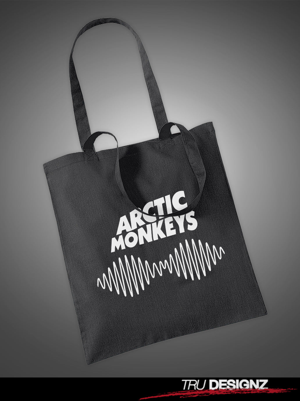 Arctic Monkeys Soundwave Tote Bag