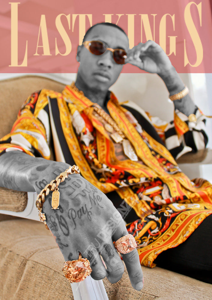 Tyga Last Kings Gold Poster