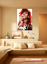 Rihanna Strawberries And Cream Poster