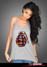 Colour Bomb Womens Vest