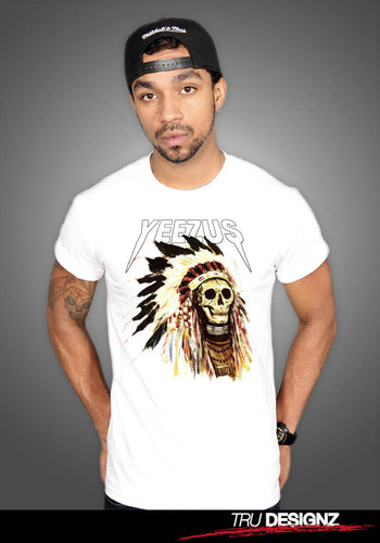 Kanye West Yeezus Dead Indian Skull T-Shirt