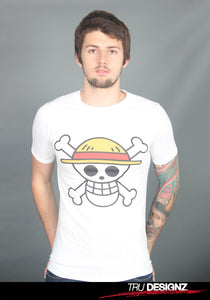 One Piece Skull Plate Logo T-Shirt
