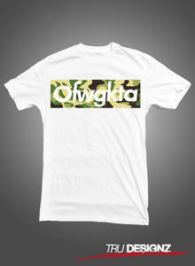 OFWGKTA Odd Future Wolf Gang Kill Them All Camo T-Shirt