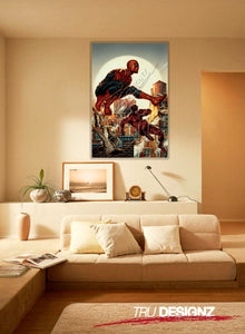 Spiderman And The Daredevil Poster