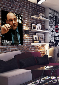 Rip James Gandolfini 18/09/61-19/06/13 The Sopranos Poster
