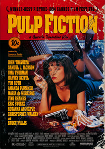 Pulp Fiction Vintage Film Poster