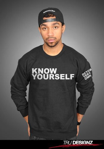 **Sale** Know Yourself Sweatshirt As Worn By Lil Wayne