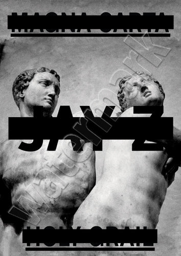 Jay Z Magna Carta Holy Grail Album Cover Artwork  Poster