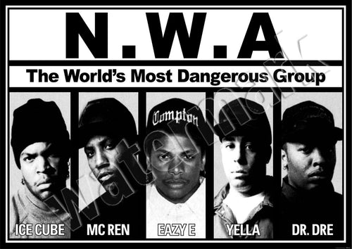 N.W.A. Worlds Most Dangerous Group Poster