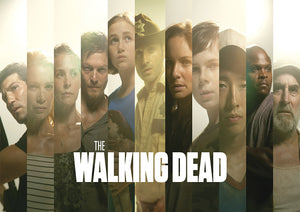 The Walking Dead Main Cast Poster