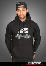 Arctic Monkeys AM Sound Wave Fitted Hoodie