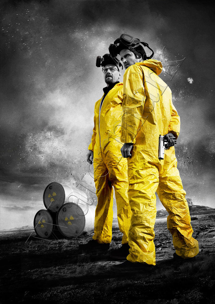 Breaking Bad Conquer The World Poster