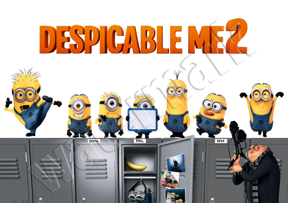 Despicable Me 2 Movie Promotional Advert Poster
