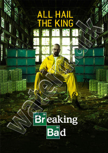 Breaking Bad All Hail The King Poster