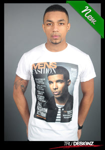 Drake Mens Fashion Graphic T-Shirt