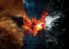 The Dark Knight Trilogy Logo Poster